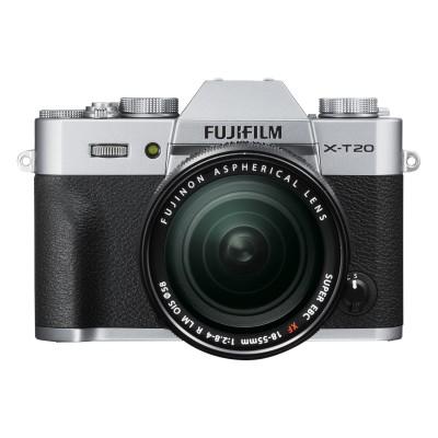 Fujifilm X-T20 18-55mm Kit - Silber