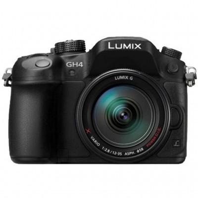 Panasonic Lumix GH4A mit 12-35mm F/2.8 - Schwarz