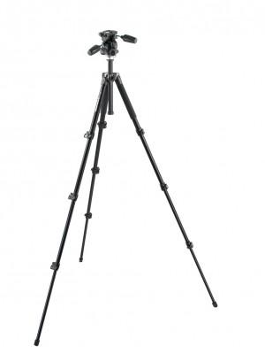 Manfrotto MK294A4 Alu Stativ mit 804RC2 3-Wege Kopf