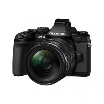 Olympus OM-D E-M1 mit 12-40mm - Schwarz