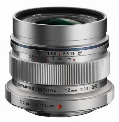 Olympus M.ZUIKO DIGITAL ED 12mm F2,0 - Silber - B-Ware