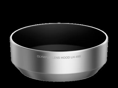 Olympus LH-49B Gegenlichtblende - Silber