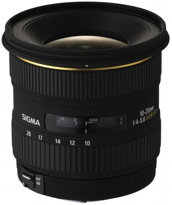 Sigma 10-20mm F4,0-5,6 EX DC HSM für Nikon