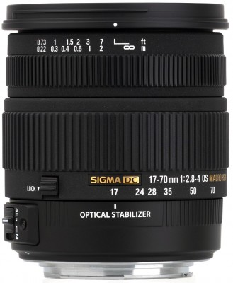 Sigma 17-70mm F2,8-4,0 DC Macro OS HSM für Canon