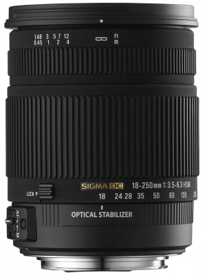 Sigma 18-250mm F3,5-6,3 DC OS HSM für Nikon - B-Ware