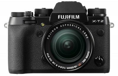 Fujifilm X-T2 18-55mm F2,8-4 Kit - Schwarz