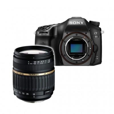 Sony alpha 68 mit 18-200mm XR Tamron (ILCA-68) - Schwarz
