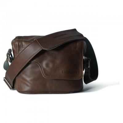 COMPAGNON 121 The Nano Messenger - Camera Bag (Dark Brown)