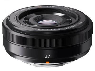 Fujifilm Fujinon XF 27mm F2,8 - Schwarz