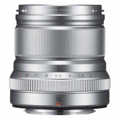 Fujifilm Fujinon XF 50mm F2 R WR - Silber