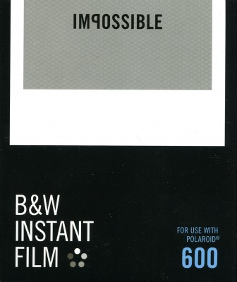 Impossible Instant Film B&W 600