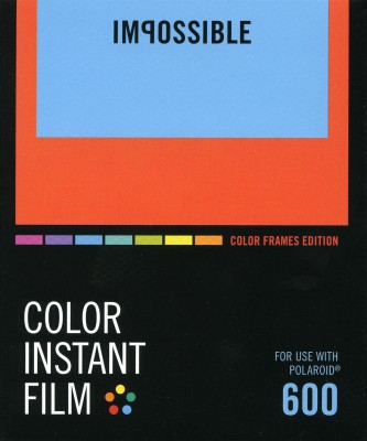 Impossible Instant Film Color 600 - Color Frames Edition