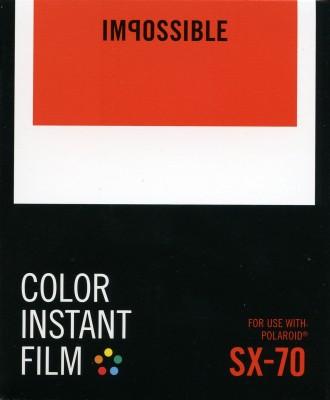 Impossible Instant Film Color Instant Film SX-70