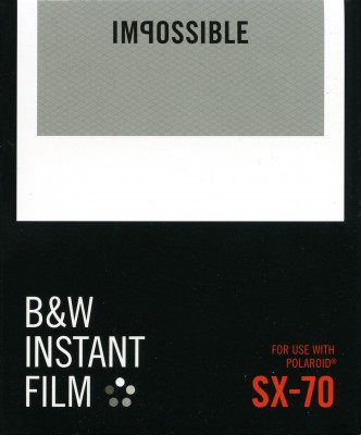 Impossible Instant Film B&W SX-70