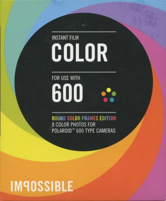 Impossible Instant Film Color 600 - round Color Frames Edition