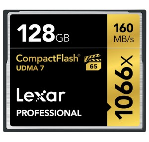Lexar Professional 1066x CompactFlash 128GB