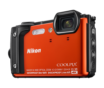 Nikon Coolpix W300 Holiday Kit - Orange