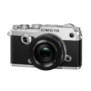 Olympus PEN-F 14-42mm EZ Kit - Silber - B-Ware