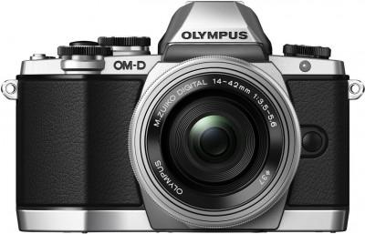 Olympus OM-D E-M10 mit 14-42mm - Silber