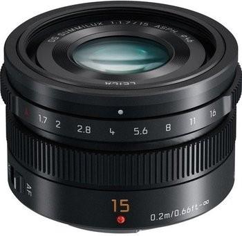 Panasonic Lumix Leica DG Summilux 15mm F1,7 ASPH. - Schwarz
