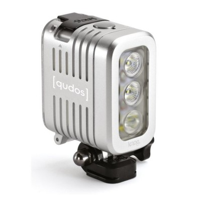knog [QUDOS] ACTION Light - Silber