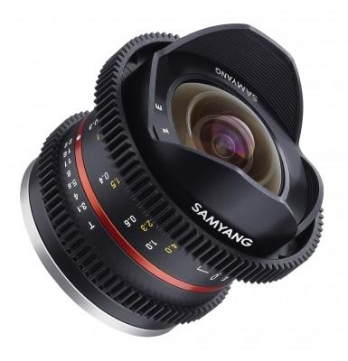 Samyang 8mm F/3.5 T Cine UMC FISH-EYE II Fuji X