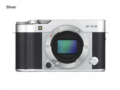 Fujifilm X-A3 16-50mm Kit - Silver